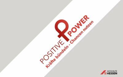 Freigabe des von uns entwickelten Signets »POSITIVE POWER«