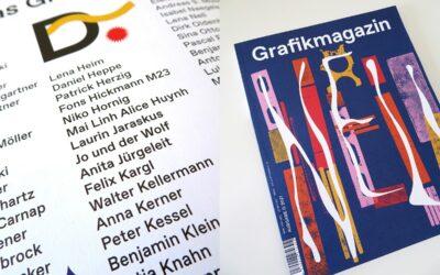 Jo und der Wolf sind offizielle Gönner des NOVUM-Nachfolgers »Grafikmagazin«.