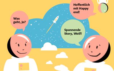 Jo und der Wolfs Inside: Warum du mit Personal Storytelling deine Glücksbilanz optimieren kannst.
