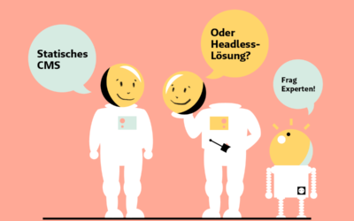 Jo und der Wolfs Digital-Kontroverse. Heute: Statisches CMS oder Headless-Lösung?